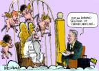 Cartoonist Mike Luckovich  Mike Luckovich's Editorial Cartoons 2012-04-10 Saint Peter