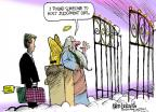 Cartoonist Mike Luckovich  Mike Luckovich's Editorial Cartoons 2012-04-20 heaven