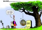Cartoonist Mike Luckovich  Mike Luckovich's Editorial Cartoons 2012-05-18 ball