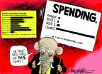 Cartoonist Mike Luckovich  Mike Luckovich's Editorial Cartoons 2012-05-24 well