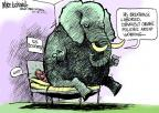 Cartoonist Mike Luckovich  Mike Luckovich's Editorial Cartoons 2012-06-13 obstruction