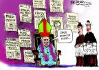 Cartoonist Mike Luckovich  Mike Luckovich's Editorial Cartoons 2012-06-15 indictment