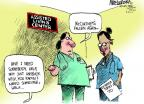 Cartoonist Mike Luckovich  Mike Luckovich's Editorial Cartoons 2012-06-20 birthday