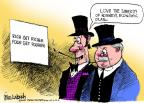 Cartoonist Mike Luckovich  Mike Luckovich's Editorial Cartoons 2012-06-24 poverty