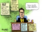 Cartoonist Mike Luckovich  Mike Luckovich's Editorial Cartoons 2012-07-13 $100