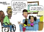 Cartoonist Mike Luckovich  Mike Luckovich's Editorial Cartoons 2012-07-17 well
