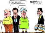 Cartoonist Mike Luckovich  Mike Luckovich's Editorial Cartoons 2012-08-24 well