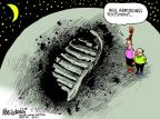 Cartoonist Mike Luckovich  Mike Luckovich's Editorial Cartoons 2012-08-28 obituary