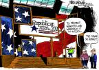 Cartoonist Mike Luckovich  Mike Luckovich's Editorial Cartoons 2012-08-29 political convention