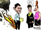 Cartoonist Mike Luckovich  Mike Luckovich's Editorial Cartoons 2012-09-02 political convention