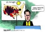 Cartoonist Mike Luckovich  Mike Luckovich's Editorial Cartoons 2012-09-16 election
