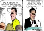 Cartoonist Mike Luckovich  Mike Luckovich's Editorial Cartoons 2012-09-21 47 percent