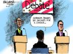 Cartoonist Mike Luckovich  Mike Luckovich's Editorial Cartoons 2012-10-02 2012 debate