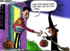 Cartoonist Mike Luckovich  Mike Luckovich's Editorial Cartoons 2012-10-09 election