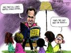 Cartoonist Mike Luckovich  Mike Luckovich's Editorial Cartoons 2012-10-12 election