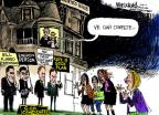Cartoonist Mike Luckovich  Mike Luckovich's Editorial Cartoons 2012-10-26 2012 election religion