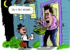 Cartoonist Mike Luckovich  Mike Luckovich's Editorial Cartoons 2012-10-31 2012 election