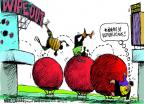 Cartoonist Mike Luckovich  Mike Luckovich's Editorial Cartoons 2012-11-06 2012 election