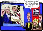 Cartoonist Mike Luckovich  Mike Luckovich's Editorial Cartoons 2012-11-14 Fox News anchor