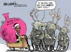 Cartoonist Mike Luckovich  Mike Luckovich's Editorial Cartoons 2012-12-04 president