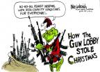 Cartoonist Mike Luckovich  Mike Luckovich's Editorial Cartoons 2012-12-18 school shooting