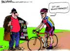 Cartoonist Mike Luckovich  Mike Luckovich's Editorial Cartoons 2013-01-15 steroids