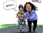 Cartoonist Mike Luckovich  Mike Luckovich's Editorial Cartoons 2013-01-18 performance-enhancing