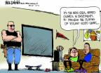 Cartoonist Mike Luckovich  Mike Luckovich's Editorial Cartoons 2013-01-31 game