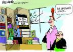 Cartoonist Mike Luckovich  Mike Luckovich's Editorial Cartoons 2013-03-01 president