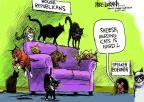 Cartoonist Mike Luckovich  Mike Luckovich's Editorial Cartoons 2013-03-03 cat