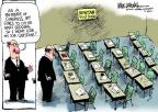 Cartoonist Mike Luckovich  Mike Luckovich's Editorial Cartoons 2013-03-22 school shooting