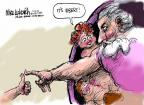 Cartoonist Mike Luckovich  Mike Luckovich's Editorial Cartoons 2013-04-07 death dying