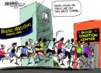 Cartoonist Mike Luckovich  Mike Luckovich's Editorial Cartoons 2013-04-16 athlete