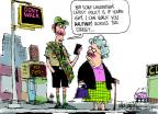 Cartoonist Mike Luckovich  Mike Luckovich's Editorial Cartoons 2013-04-24 boy scout