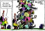 Cartoonist Mike Luckovich  Mike Luckovich's Editorial Cartoons 2013-05-02 bomb