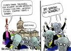 Cartoonist Mike Luckovich  Mike Luckovich's Editorial Cartoons 2013-05-17 gun