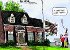 Cartoonist Mike Luckovich  Mike Luckovich's Editorial Cartoons 2013-05-30 flag