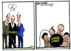 Cartoonist Mike Luckovich  Mike Luckovich's Editorial Cartoons 2013-07-02 climate change