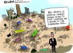 Cartoonist Mike Luckovich  Mike Luckovich's Editorial Cartoons 2013-07-04 demonstration