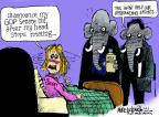 Cartoonist Mike Luckovich  Mike Luckovich's Editorial Cartoons 2013-07-19 2014 election