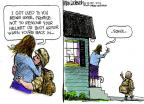 Cartoonist Mike Luckovich  Mike Luckovich's Editorial Cartoons 2013-08-11 school shooting