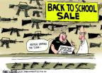 Cartoonist Mike Luckovich  Mike Luckovich's Editorial Cartoons 2013-08-21 school shooting