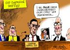 Cartoonist Mike Luckovich  Mike Luckovich's Editorial Cartoons 2013-08-27 performance