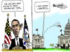 Cartoonist Mike Luckovich  Mike Luckovich's Editorial Cartoons 2013-09-04 action