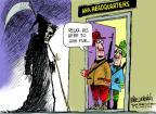 Cartoonist Mike Luckovich  Mike Luckovich's Editorial Cartoons 2013-09-17 mass shooting