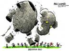 Cartoonist Mike Luckovich  Mike Luckovich's Editorial Cartoons 2013-10-01 break