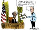 Cartoonist Mike Luckovich  Mike Luckovich's Editorial Cartoons 2013-10-11 well