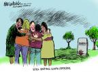 Cartoonist Mike Luckovich  Mike Luckovich's Editorial Cartoons 2013-12-06 obituary