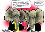 Cartoonist Mike Luckovich  Mike Luckovich's Editorial Cartoons 2013-12-08 poverty