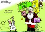 Cartoonist Mike Luckovich  Mike Luckovich's Editorial Cartoons 2013-12-11 poverty